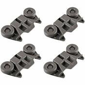 4 Pack Lower Dishwasher Wheel Part Assembly Replace Maytag Kitchen Aid Whirlpool