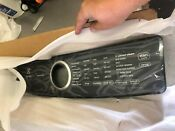 Electrolux 5304515406 Dryer Console Assembly With Overlay New In Box