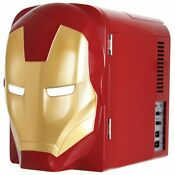 Marvel Ironman 4l Thermoelectric Mini Fridge Cooler New Brand Free Shipping