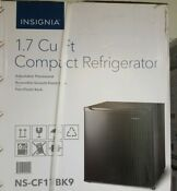 Insignia 1 7 Cu Ft Mini Fridge Black Free Local Pickup Only