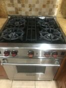 Wolf Gas Stove With Four Burners