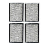 4 Compatible For Frigidaire 5304440336 Microwave Oven Aluminum Grease Filters