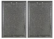2 Filters For Ge Wb06x10608 Mesh Grease Microwave Filter