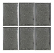 6 Grease Mesh Microwave Range Filters Compatible For Maytag 56001069 53001357