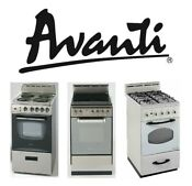 Avanti Products 20 To 24 Ranges Gas Electric Coil And Electric Glass Top
