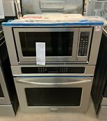 Frigidaire Fgmc3065pf Gallery 30 Stainless Steel Electric Combination Wall Oven