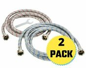Washing Machine Hoses Stainless Steel Braided Water Supply Line Hippohose