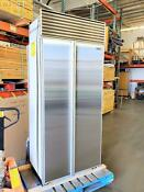 Sub Zero 36 Side By Side Built In Refrigerator W Perfect Stainless Steel Doors