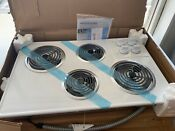 New Frigidaire 32 Electric Cook Top In White