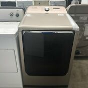 Samsung 7 4 Cu Ft Steam Cycle Electric Dryer Champagne Dve54r7600ca3