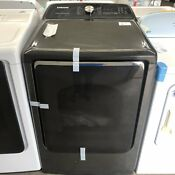 Samsung 7 4 Cu Ft Steam Cycle Electric Dryer Black Stainless Steel Dve54r7600va3