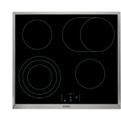 Aeg He634070xb Cooktop Stainless Steel