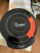 New Nuwave Precision Induction Cooktop Model 30121