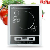 Portable Digital 2000w Electric Induction Cooktop Cooker Countertop Burner Usa