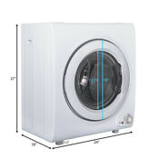 2 65 Cu Ft Electric 9 Lbs Clothes Tumble Dryer Compact Laundry Wall Mounted