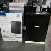Pickup Only Insignia 2 6 Cu Ft Compact Refrigerator Black Ns Cf26bk9