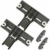 4 Pcs W10350375 2 W10508950 2 Dishwasher Top Rack Adjuster For Whirlpool