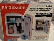 Portable Retro 6 Can Mini Fridge Compact Cooler Home Office Car New Pink