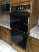 General Electric Vintage Double Wall Oven