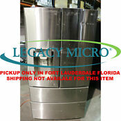 Lg Lmxs28626s 27 8cf French Door Refrigerator Wifi Stainless Steel Missing Glass