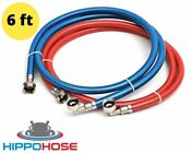 Washing Machine Hose 6ft Pvc Stainless Steel Water Supply Line 90 Degree Elbow