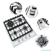 4 Burner Built In Gas Cooktop Cook Top Ng Lpg Kitchen Cook Stove Stainless Steel