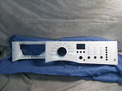 Frigidaire Clothes Washer White Control Panel 137377510 New
