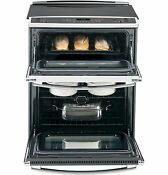 Ge Profile 30 Slide In Double Oven Smoothtop Electric Range Brand New