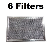 Microwave Mesh Grease Filter For Frigidaire Fgmv174kfa 6 Pack
