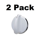 2 Washer Dryer Selector Knobs For Ge We01x20378 Wh01x10460