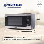 Popcorn Microwave Oven Small Westinghouse Countertop Stainless Steel Christmas