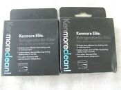 2 Pack Genuine Oem Kenmore Elite 46 9918 Refrigerator Air Filter New Free Ship