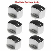 6x Universal Cooker Oven Gas Stove Control Range Knobs Switch Replacement Handle
