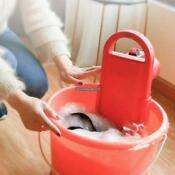 Household Mini Portable Washing Machine Electric Clothes Cleaning Device Eh7e