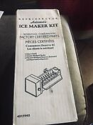 New Whirlpool Refrigerator Factory Certified Part Ice Maker Kit Automatic