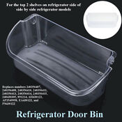 Refrigerator Gallon Door Bin Shelf Fits Frigidaire 240356402 Ap2549958