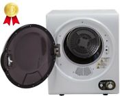 Compact Rv Electric Dryer Dorm Small Sized Apartment Condo Room White 1 5 Cu Ft