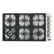 Cosmo Cos Dic366 36 Six Burner Gas Cooktop Stainless Steel