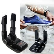 Boot Dryer Portable Folding Shoes Warmer 110v Electric Heat With Timer Us Stock