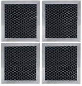 4 Compatible With Whirlpool 8206230a Microwave Hood Charcoal Filters