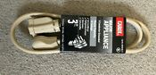 Carol Major Appliance Cord 3 Ft 3 Conductor Grounded 15 Amp