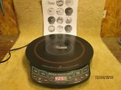 Nuwave Precision Induction Cooktop With 2 Quart Pot And Lid Excellent