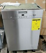 New Miele G 4228 Scu Full Size Clean Touch Stainless Steel 24 Dishwasher