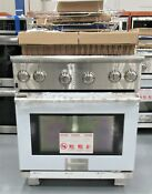 Electrolux E30df74gps 4 2 Cu Ft 30 Stainless Dual Fuel Range