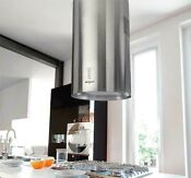 Island Range Hood Ka 123 Cs Round Vent Duct Ductless Nt Air Made In Italy