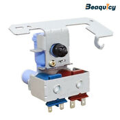 Wr57x10032 Water Valve Dual Solenoid With Guard For Refrigerator By Beaquicy