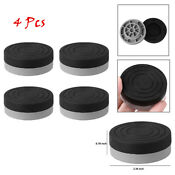 4pc Heavy Duty Washer Dryer Anti Vibration Non Slip Pads Raise Foot Mats Protect