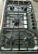 Thermador Masterpiece 36 Inch Wide 5 Burner Gas Cooktop With Star Burners