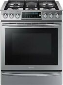Samsung Nx58h9500ws 30 Slide In Gas Stove Range True Convection Stainless
