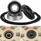 4pcs 4036er2004a Front Load Washer Tub Bearing And Seal Kit For Lg And Kenmore